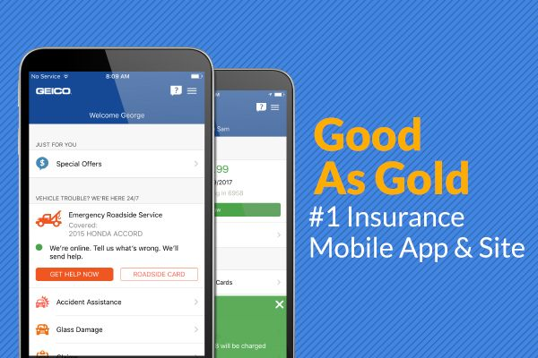 Geico Roadside Assistance Phone >> Geico S Award Winning App Puts Help At Your Fingertips